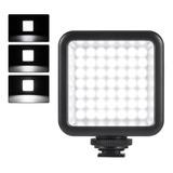 Foco Luz 49 Led Con Dimmer Fotografía Video Envío Gratis