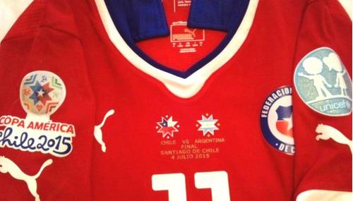 Ultimas Camisetas Chile Puma Final Copa America 2015 -   69990 en ... b1026d290c8ef