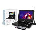 Dvd Portátil Con Tv Microlab 9  + Funda Protectora