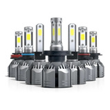 Kit Turbo Led H1 H3 H4 H7 H11 H13 9005 9006 880 12000lm/ R11