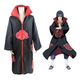 Abrigo Anime Manto Naruto Capa Akatsuki Cosplay Disfraces