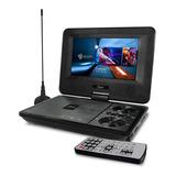 Microlab Dvd Portátil 7  Con Tv Batería Recargable Usb -sd