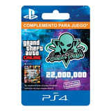 $22.000.000 Dinero + Rp Gta V Online - Ps4 - 100% Auténticos