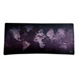 Mouse Pad Dblue Diseño Mapa Mundo 90x40x3 Dbmp010 Buychile