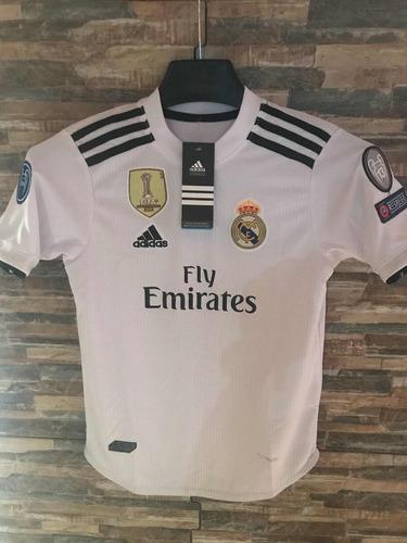 a11cb76c1 Camiseta Real Madrid Full Parches ( Niños)