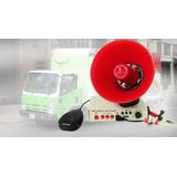 Megáfono Mp3 Usb  Micro Sd 12v Y 24v Graba Voz Outletnet