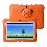7 Niños Tablet Pc 8 Gb Quad-core Wi-fi Tablet Pc Pad Con