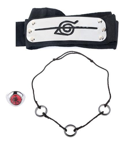 Anime Naruto Shippuden Uchiha Itachi Cosplay Loops Collar