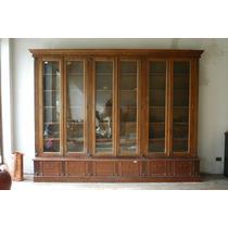 Gran Mueble Biblioteca Antiguo Nogal. Camara Diputados