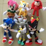 Peluches Sonic Y Sus Amigos