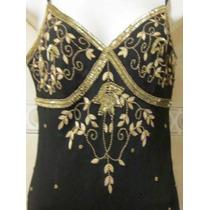 Hermoso Vestido De Gala Adriana Papel Talla 6 Americana