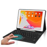 Funda Con Teclado Bluetooth Para iPad Air 10.5 Negro