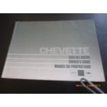 Manual Del Propietario Chevrolet Chevette 1988