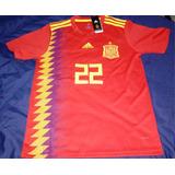 Camiseta Fútbol Selección España 2018 Nuevas Talla L 42fa17d006325
