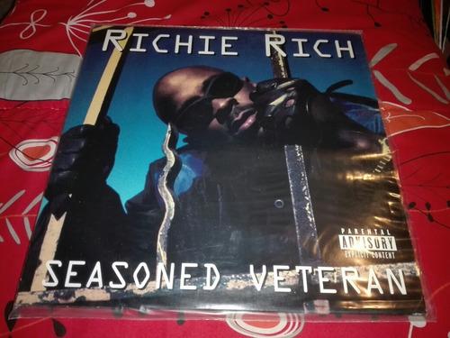 Richie Rich - Seasoned Veteran Vinilo Rap 1ra Edicion