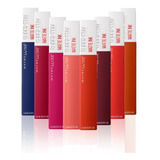 Pack 8 Labiales Superstay Matte Ink City Maybelline