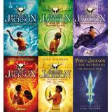 Saga Percy Jackson Y Los Dioses Del Olimpo - 6 Obras