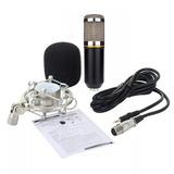 Micrófono Estudio Condensador Profesional Bm800 Proglobal