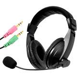 Audifono Gamer Con Microfono W-750 Negro