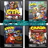 Pack Crash Ps3 (ctr-crash1-2-3) [pcx3gamers]