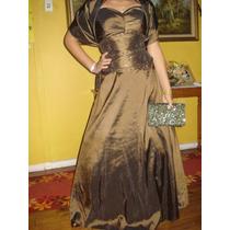 Vendo Hermoso Vestido De Fiesta Strapless Talla 40 -42