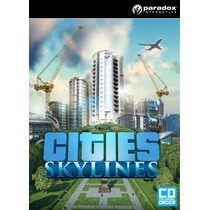Cities: Skylines - Steam Pc Gift Card Digital Original