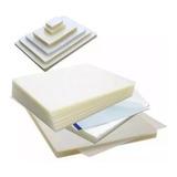 Pack 100 Micas Termolaminadora Plastificadora Carta A4