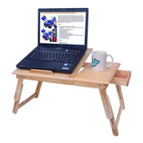 Mesa Plegable De Madera Para Laptop