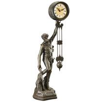 Reloj Péndulo Desing Toscano Ser Coronado Escultura