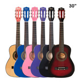 Guitarra Clásica Niños Colores Epic + Bolso Despacho Gratis