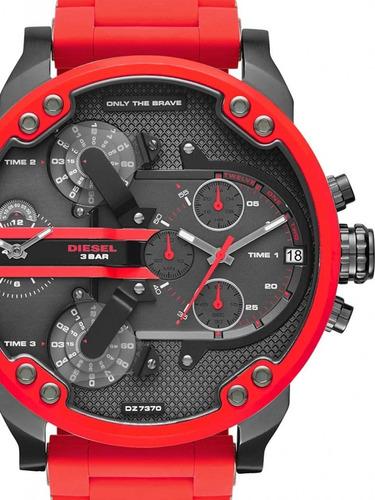 32d2abbbd1a2 Reloj Diesel Dz-7370 Rojo Mr. Daddy 2.0 Nuevo!!