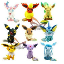Peluche Pokemon Eevee Y Evoluciones