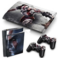 Skin Play Station 3 Ps3 Super O Ultra Slim + 2 Skin Joystick