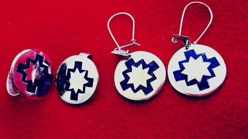 701151d132a3 Joyas Mapuche De Plata 950 (conjunto De Plata Y Lazulis)