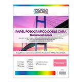 Papel Foto Matte Doble Cara Nobucolor A4 140 Gr. 100 Hojas