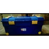 Dos(2)baúl O Caja De 90 Litros De. Plástico Con Rueda