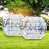 Pack De 2 Inflable Bumper Ball 1mml Pvc 1.2mts