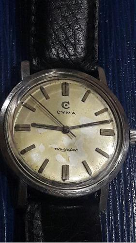 bb90f6265aac Reloj Cyma Navystar Automatico De Acero.