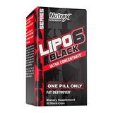 Lipo 6 Black Ultra Concentrado Quemador Grasa Envío Gratis