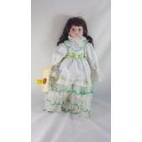 Muñeca Porcelana Heather Artisan   Ed Limitada  Numero 8