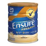 Ensure Advance 850gr (vainilla, Frutilla, Chocolate)