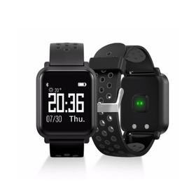 Reloj Inteligente Negro Smart Watch Deportivo Sw55 Pulsometr