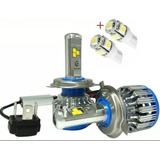 Par Kit Ampolletas Turbo Led H4 Chip No Error Canbus+ Regalo
