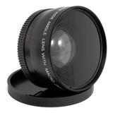 Gran Angular Y Macro 58mm 0.45x Lente Para Canon Nikon