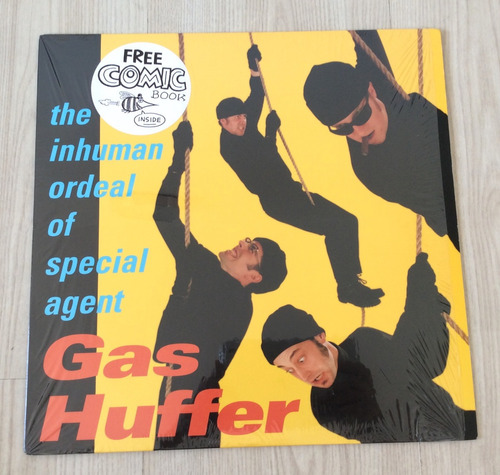 Vinilo Gas Huffer - The Inhuman Ordeal Of Special