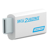 Conversor Adaptador Nintendo Wii A Hdmi Audio 3.5mm | Dfast