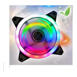 Fan Cooler 120mm Pc Gamer Led Rgb 3 Y 4 Pin Ide Chasis