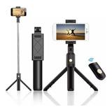 Palo Selfie 3 En 1 Trípode Bluetooth Control /r&c