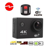 Camara Deportiva Accion 4k Ultra Hd Wifi Hdmi Sumergible 30m