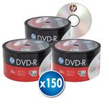 3 X Torta 50 Uni. Dvd Hp Con Logo 16x 4.7gb 120 Minutos